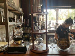ビエンチャンのカフェ