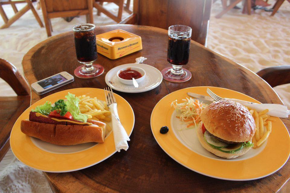 Maldives lunch