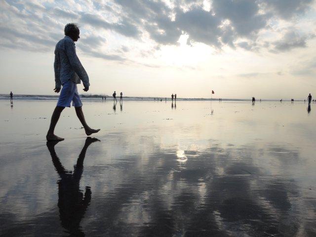 インドネシアのバリ島クタビーチ