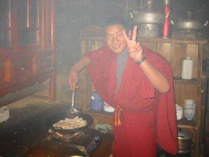 チベット僧侶