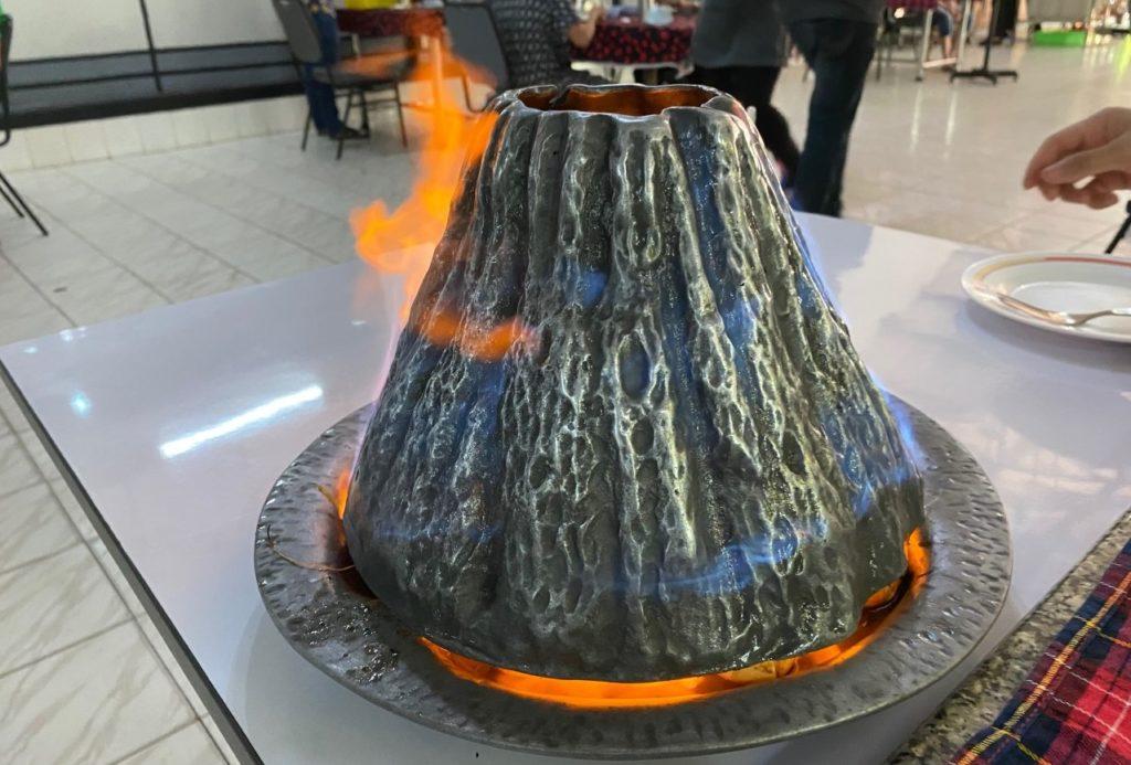 火山蒸しエビ